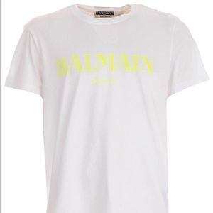 Balmain tee New with tags. 100% Authentic.